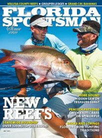 Captain Pepe Gonzalez made the cover of the Florida Sportsman Magazine.